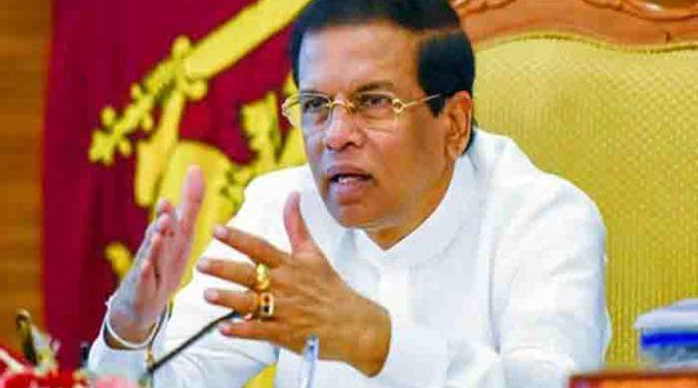श्रीलंका में श्रीसेन की दादागीरी