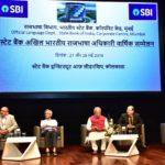 स्टेट बैंक आॅफ इंडिया के राजभाषा अधिकारियों के अखिल भारतीय सम्मेलन को कोलकाता में संबोधित करते हुए डॉ. वैदिक