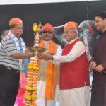 नारायण सेवा संस्थान के मुंबई में हुए राष्ट्रीय सम्मेलन का उदघाटन करते हुए मुख्य अतिथि डॉ. वेदप्रताप वैदिक।