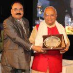 प्रेस्टीज विवि इंदौर के रजत जयंती समारोह का उदघाटन करते हुए डॉ. वेदप्रताप वैदिक