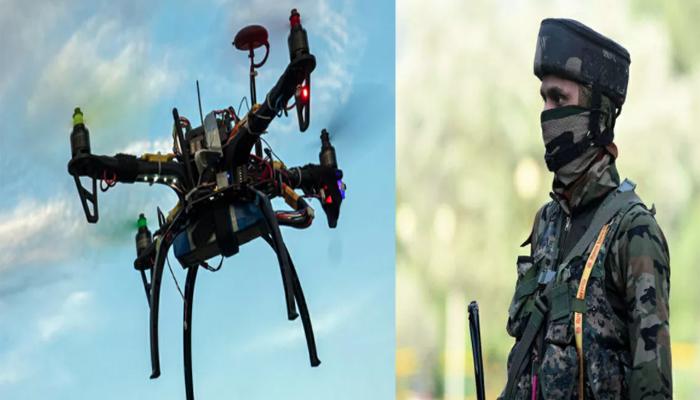 जम्मू में ड्रोन-हमला